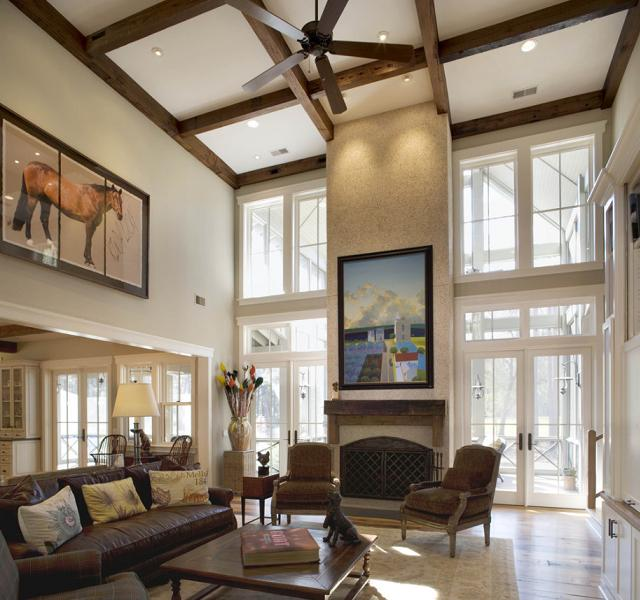 wie richtet man ein haus mit hohen decken ein seite 3 von 4. Black Bedroom Furniture Sets. Home Design Ideas