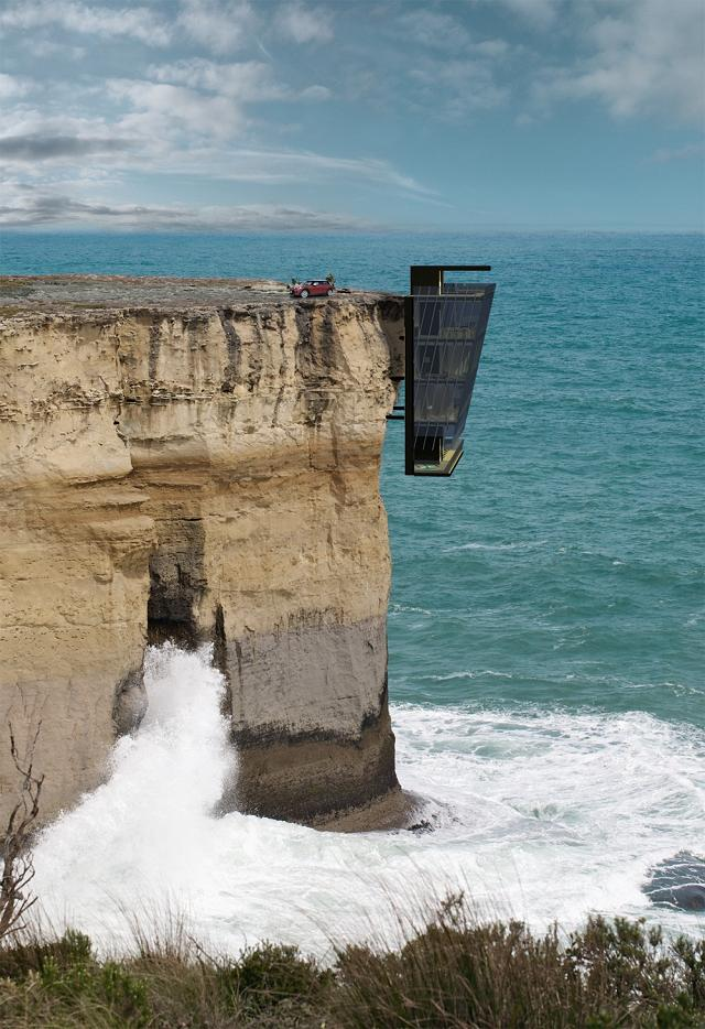 Cliff House: Panoramahaus mit Kick