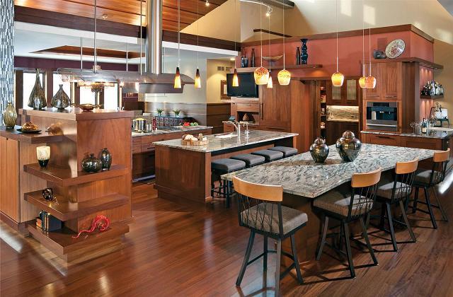 Kücheneinrichtung nach Amerikanischem Stile