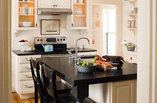 Wie richtet man eine kleine Küche ein