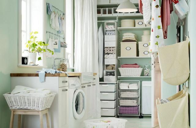 Wie man die Waschküche einrichtet und organisiert