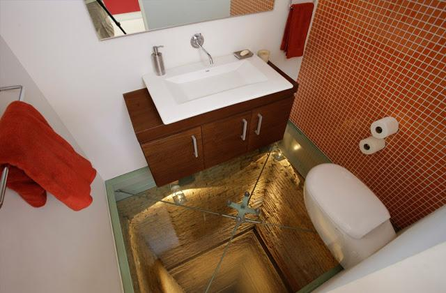Ein Badzimmer zum Fürchten