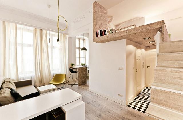 wie richtet man eine einzimmerwohnung ein tipps und tricks. Black Bedroom Furniture Sets. Home Design Ideas