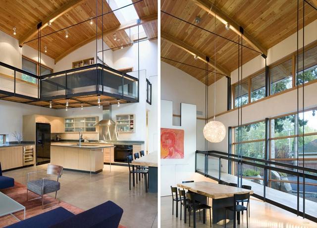 wie richtet man ein haus mit hohen decken ein seite 2 von 4. Black Bedroom Furniture Sets. Home Design Ideas