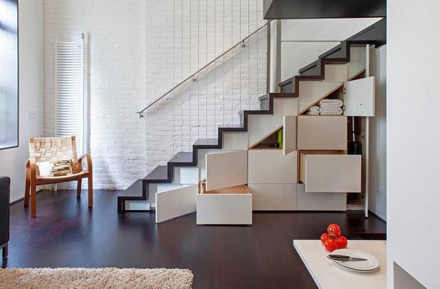 Treppenverschlag: Ideen, um das beste aus der Räumen