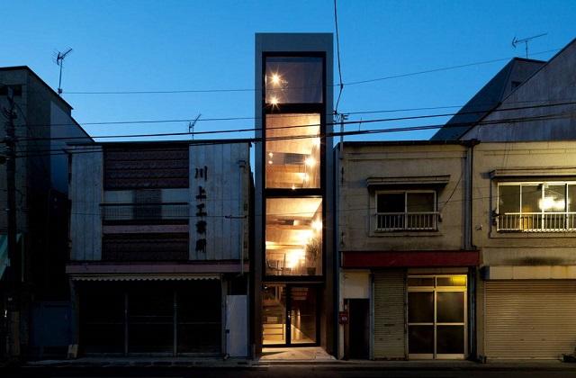 Das engste Haus der Welt, aber mit einer atemberaubenden Inneneinrichtung