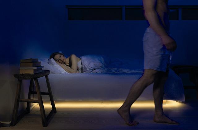 Zimmerbeleuchtung mit Bewegungssensoren