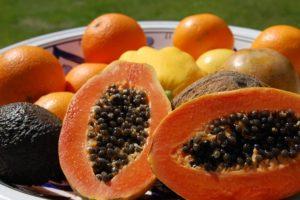 Von Papaya eine Menge Vorteile