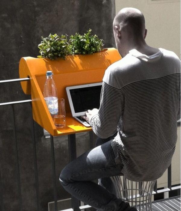 noch nützlicher um an der frischen Luft an Ihrem PC zu arbeiten