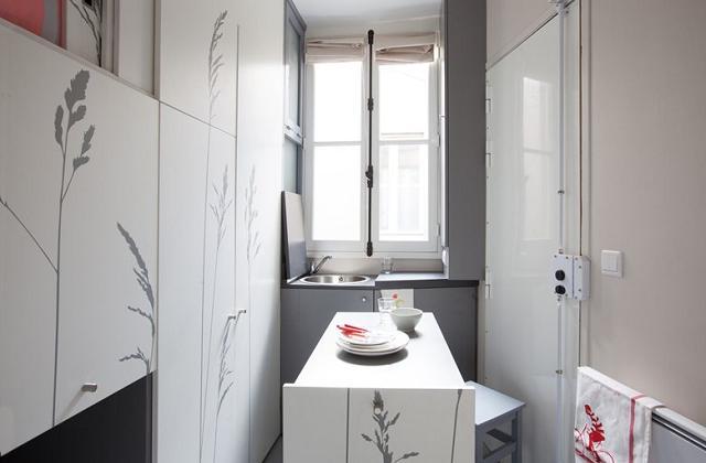 In einer Miniwohnung von nur 8 Quadratmetern leben