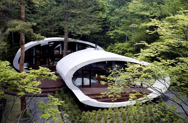 Das Shell House der Architekten Kotaro Ide