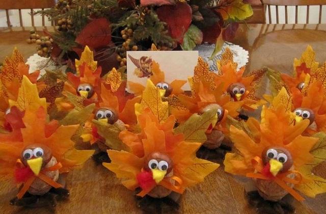 Herbstliche selbstgemachte Dekos für das Haus