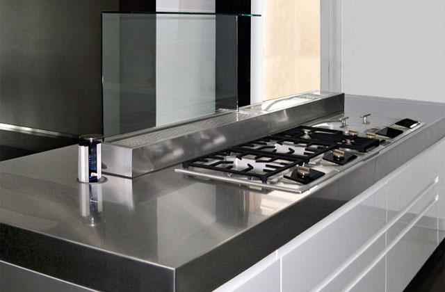 Die Küche wird täglich benutzt