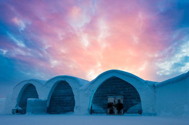 Das grösste Eishotel der Welt