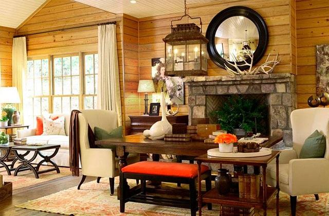 ein einladendes haus mit holz berzogenen w nden seite 2 von 4. Black Bedroom Furniture Sets. Home Design Ideas