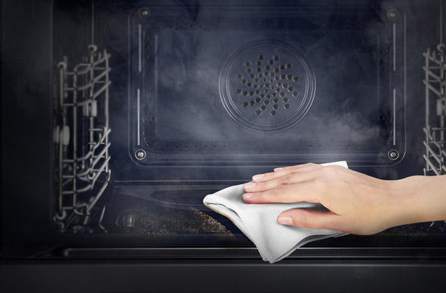 einen sauberen backofen ohne putzmittel zu verwenden wie geht denn das. Black Bedroom Furniture Sets. Home Design Ideas