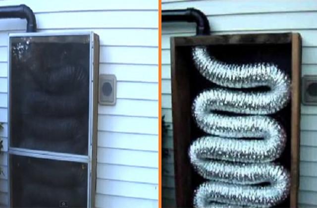 Zum Selbermachen: Wie man einen sonnenbetriebenen Heizkessel baut, mit weniger als 50 Euro (Video)
