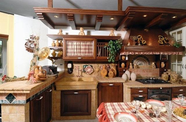 Originelle Ideen für eine Küche im Countrystil