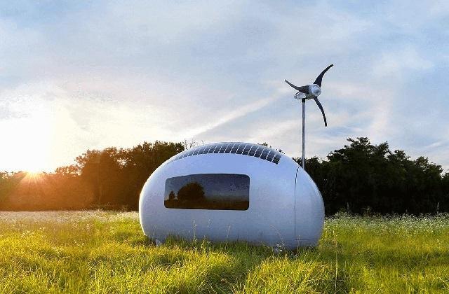 Die Öko-Kapsel und die Minihäuser der Zukunft