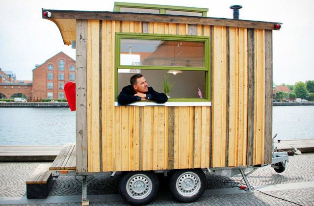 Ein Büro auf vier Rädern, damit man überall arbeiten kann