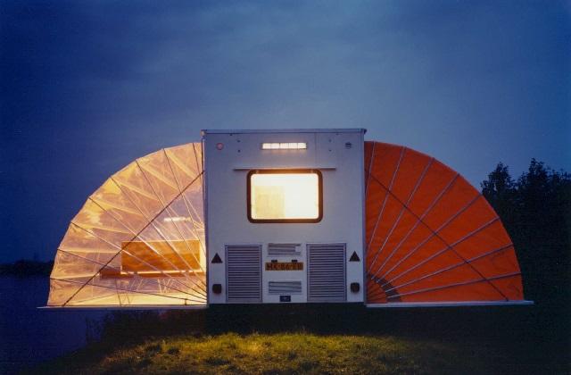 Verreisen mit dem mobilen Haus De Markies