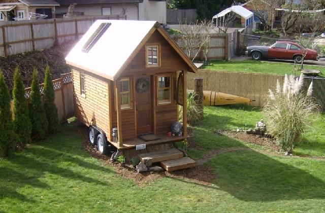 In einem winzigen Haus leben: Es ist möglich