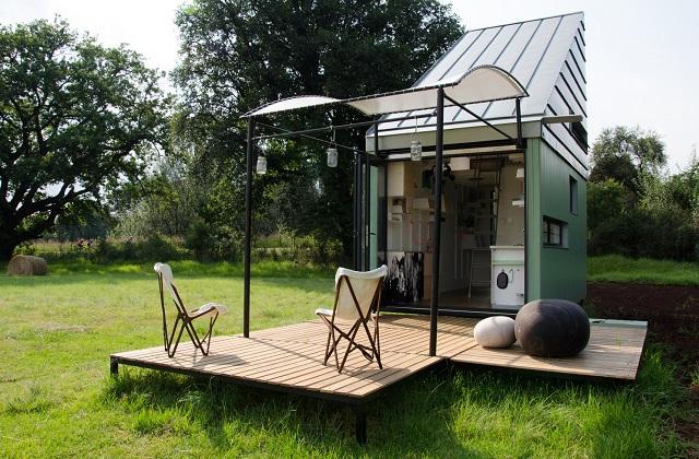 Ein Minihaus von 17 Quadratmeter, aber voll ausgestattet