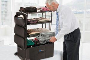 Koffer mit Etagen