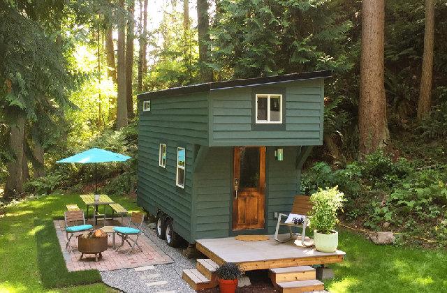 Eine Woche pure Entspannung durch das Tiny House mitten im Wald