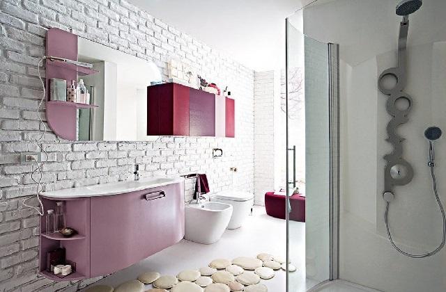 Die gewinnenden Ideen für die Einrichtung des Bades; das Mauerwerk
