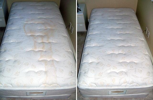 Wie man mit Natriumbikarbonat die Matratze reinigt und säubert