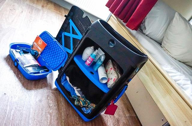 Jurni der perfekte Koffer für diejenigen, die auch im Urlaub alles ordentlich haben möchten