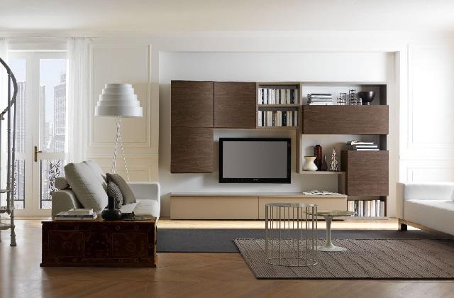 Einfache Ideen um das Wohnzimmer auf kreative und elegante Art und Weise einzurichten
