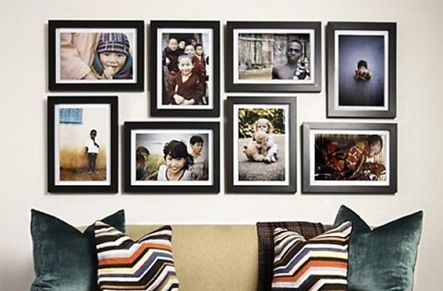 Wie Man Bilder Und Rahmen Aufhängt Ohne Löcher In Die Wände Bohren