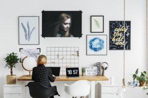 Wie organisiert man die Räumlichkeiten, wenn man das Büro zuhause hat