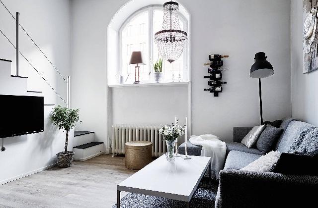 einen alten cottage im schwedischen stil einrichten mit einem eleganten mix seite 3 von 3. Black Bedroom Furniture Sets. Home Design Ideas