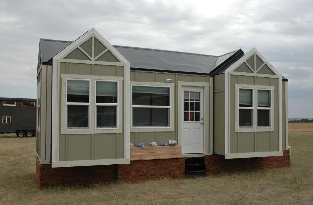 Ein Mini-Haus, dass auf Knopfdruck größer wird