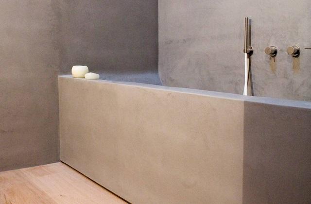 das bad mit beton badewanne seite 2 von 3. Black Bedroom Furniture Sets. Home Design Ideas