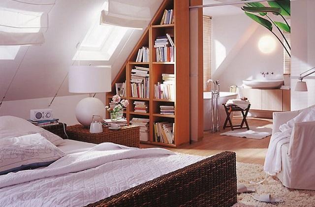ein loft mit dachboden einrichten tipps und ideen. Black Bedroom Furniture Sets. Home Design Ideas
