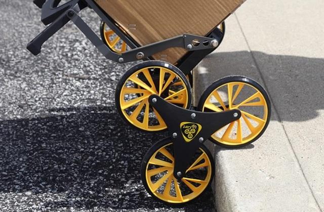 UpCart: Innovativer Schiebewagen um Gewichte zu heben