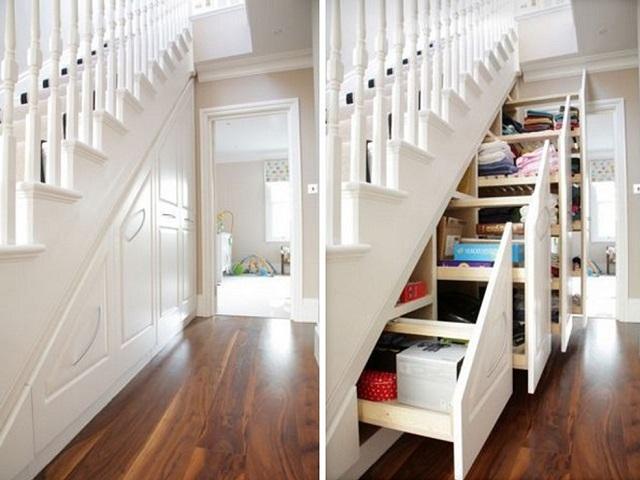Wie man im Haus mehr Platz schafft und ordentlich lebt