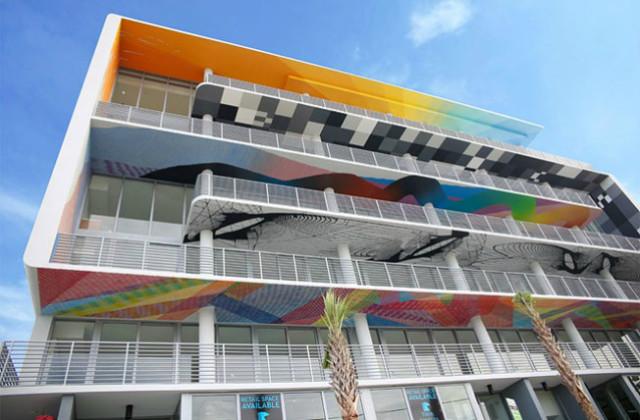 Dekorieren Sie den Balkon mit der Street Art