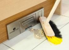 Wie man dank dem Wandtischstaubsauger Staub und Schmutz los wird
