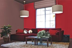 Einige Tipps und Tricks, um mit der Farbe Amarant einzurichten