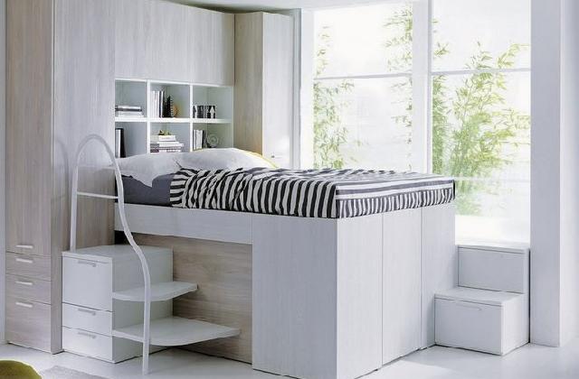Container Bed, das Kastenbett, um Platz zu gewinnen