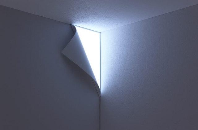 Peel Wall Light: Eine leuchtende Wand im Zimmer